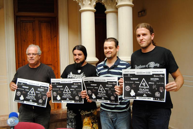 Photo of Catorce grupos participan en la novena edición del Raïm Festival de Novelda