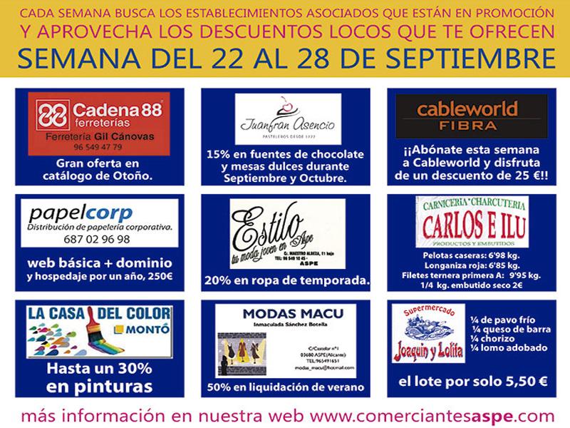 Photo of Tercera Semana Loca del comercio asociado de Aspe