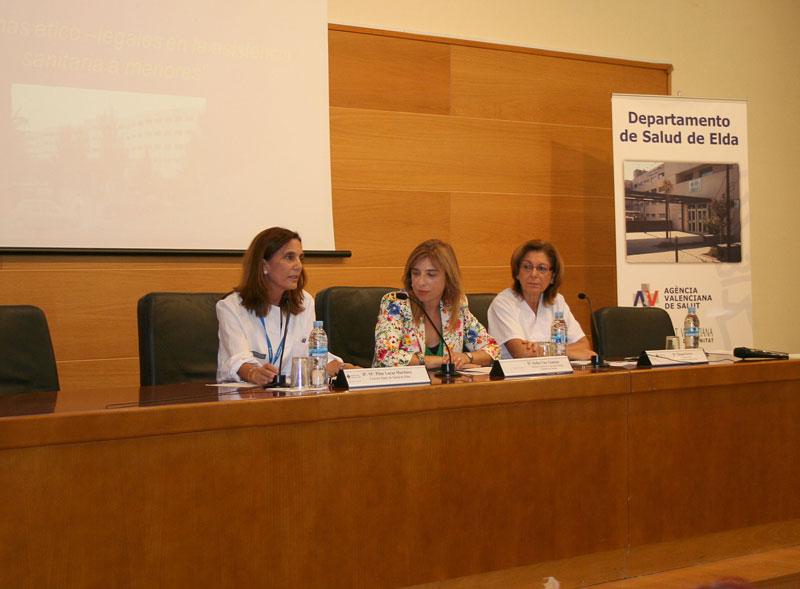 Photo of El Hospital de Elda aborda los problemas ético-legales a menores