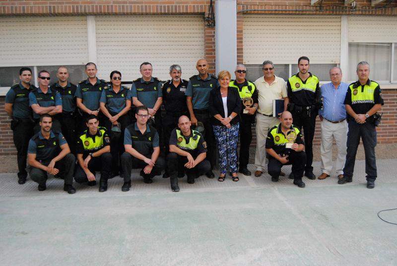 Photo of Jornada de convivencia entre efectivos fuera de servicio de Policía Local, Guardia Civil y Protección Civil