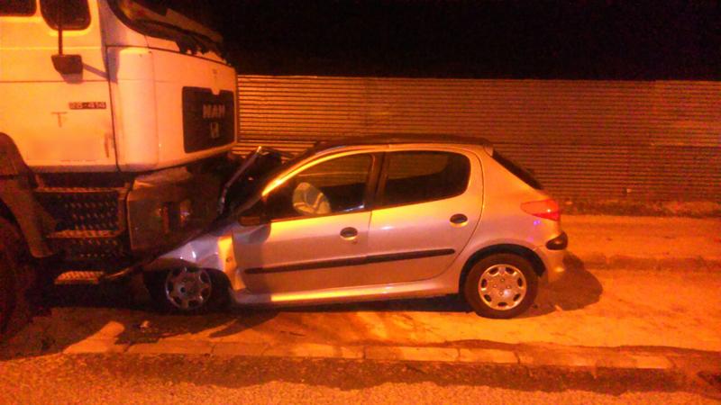 Photo of Aparatoso accidente de tráfico en el Polígono Tres Hermanas