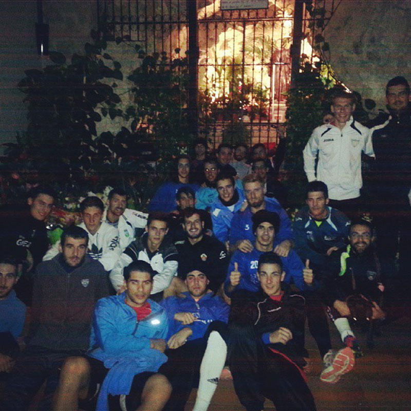 Photo of El Monforte CF visita la cueva de San Pascual