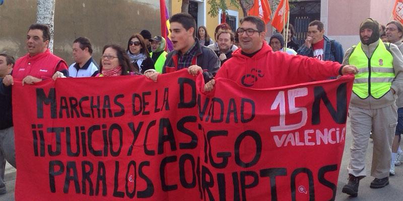 Photo of La Marcha por la Dignidad pasa por Aspe