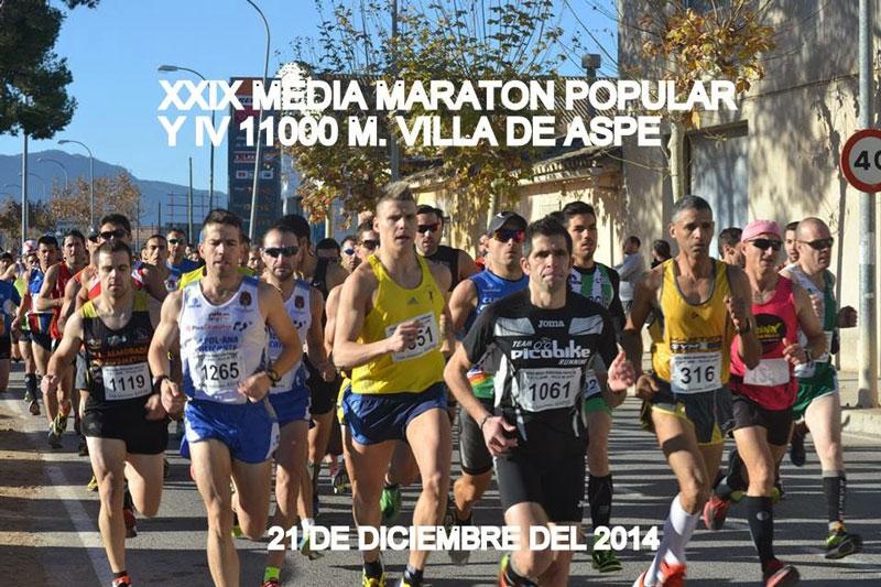 Photo of Cerca de un millar de atletas participarán en la 29 Edición de la  Media Maratón de Aspe