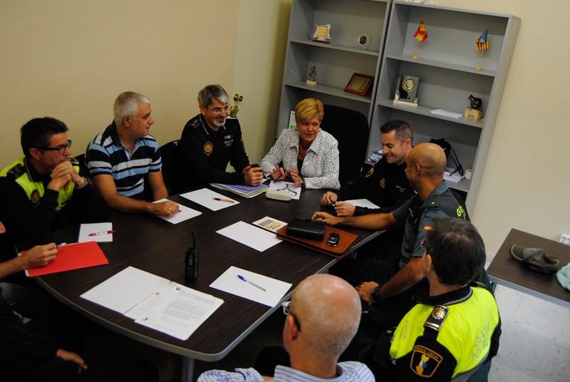 Photo of Reunión en Novelda para actualizar el plan de vigilancia rural