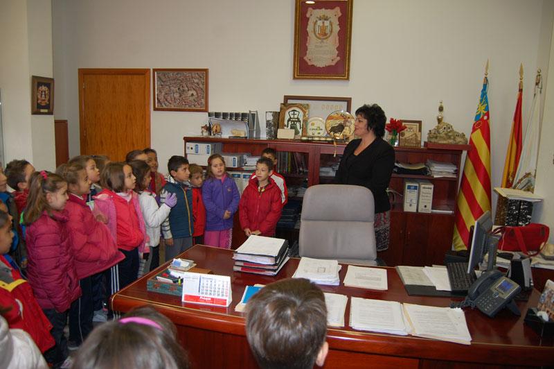 Photo of Visita de niños del Colegio Jorge Juan al Ayuntamiento