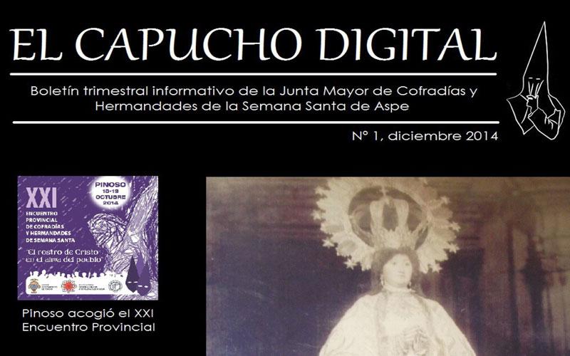 """Photo of La Junta Mayor lanza un boletín on-line bajo la denominación de """"El Capucho Digital"""""""