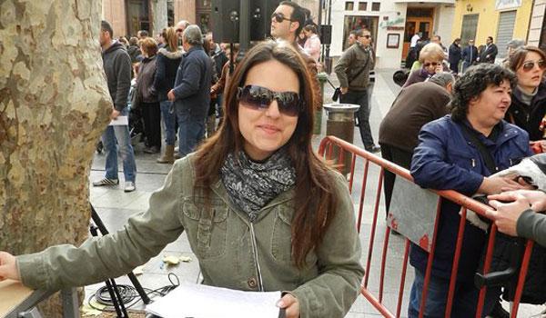Photo of La locutora de Radio Aspe Gema Carrillo presentará la Jira 2015