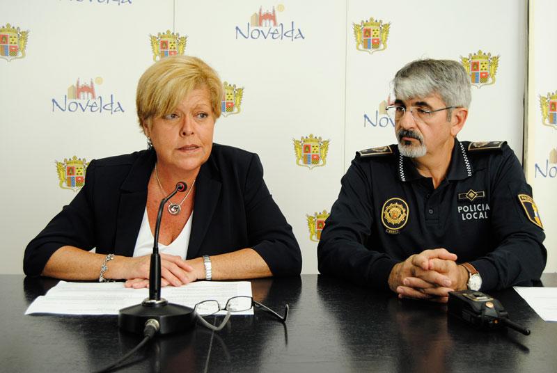 Photo of La alcaldesa de Novelda preside la Junta de Mandos de la Policía Local