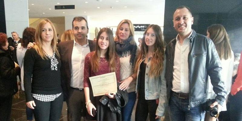 Photo of Ana Gras y Nerea Marco, Premio Extraordinario al Rendimiento Académico