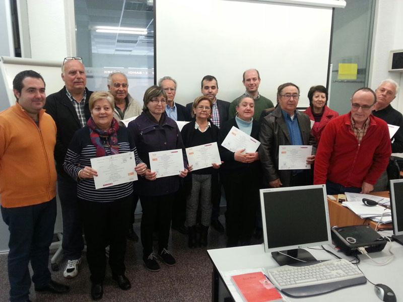 Photo of Una veintena de mayores finalizan el curso de iniciación a la informática