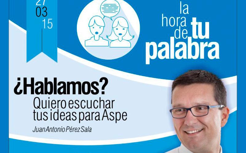 Photo of El PP de Aspe organiza 8 encuentros con los vecinos de la localidad