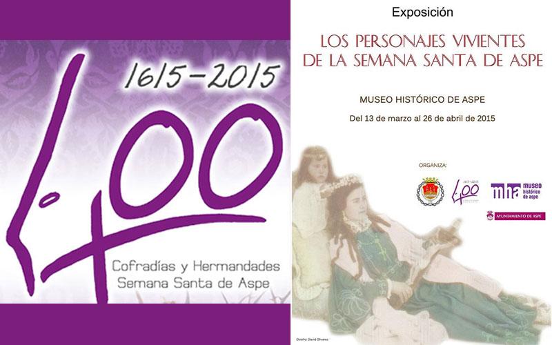"""Photo of El próximo viernes 13 se inaugura la exposición """"Los personajes vivientes en la Semana Santa de Aspe"""""""