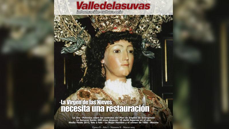 Photo of Ya puedes leer el periódico Valle de las Uvas de marzo