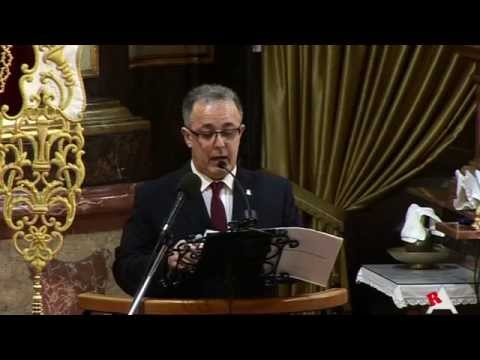 Photo of Vídeo: Pregón de Semana Santa 2015
