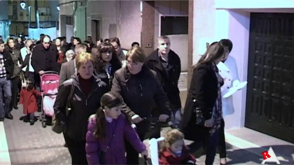 Photo of Vídeo: Vía Crucis por las calles de Aspe