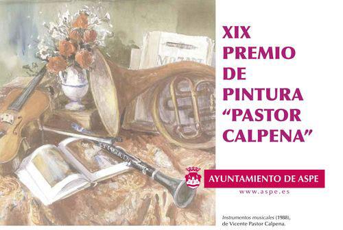 Photo of Convocado el Premio de Pintura Pastor Calpena de ámbito nacional