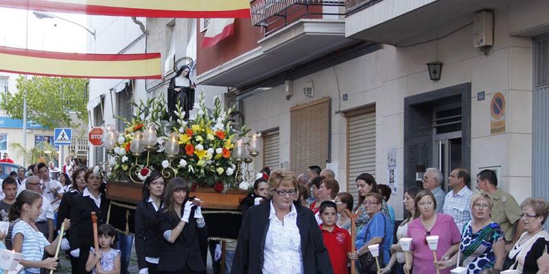 Photo of #Aspe: Fiestas de la calle Santa Rita
