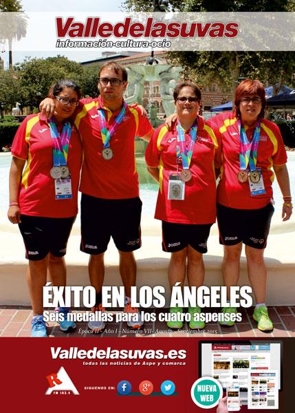 Photo of Ya se puede disfrutar de la revista Valledelasuvas Agosto-Septiembre
