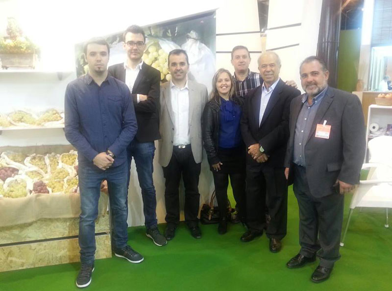 Photo of Los alcaldes de Aspe, Novelda, Monforte y Agost en la Feria Internacional de la Fruta