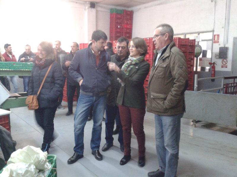 """Photo of Elena Cebrián, consellera de agricultura: """"la uva de mesa es muy importante para nosotros"""""""