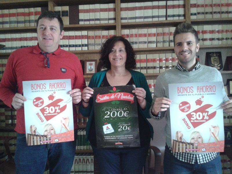 Photo of El Ayuntamiento y los Comerciantes presentan la campaña de Bonos Ahorro