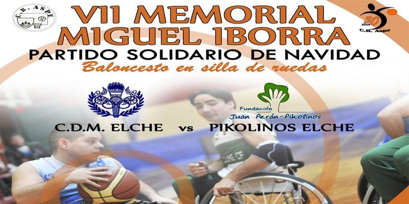 Photo of VII Memorial de Baloncesto Miguel Iborra a beneficio de APDA en Aspe