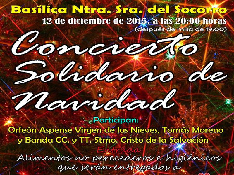 Photo of Concierto Solidario de Navidad en la Basílica de Aspe