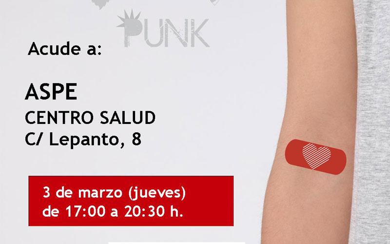 Photo of Donación de sangre este jueves en Aspe