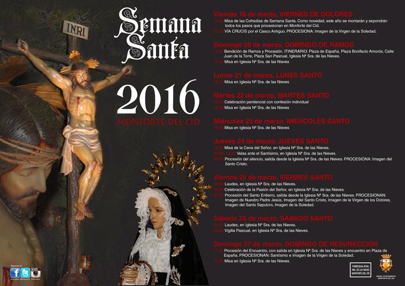 Photo of La Semana Santa de Monforte del Cid arranca con misa y Vía Crucis