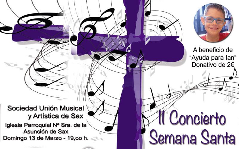 Photo of La Unión Musical de #Sax recaudará fondos para Ian durante el concierto de Semana Santa
