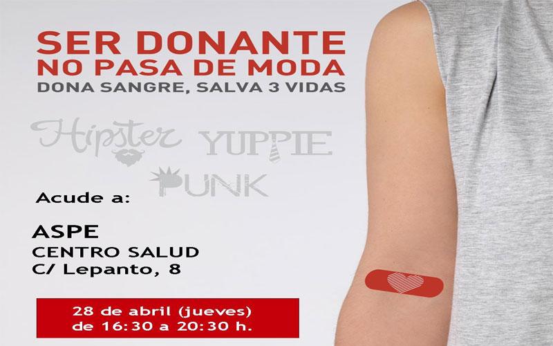 Photo of #Aspe – Donación de sangre