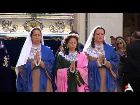 Photo of Vídeo: Procesión de la Resurrección y Ceremonia del Encuentro 2016 en Aspe
