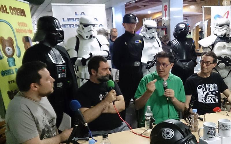 Photo of #Aspe – Benítez Bolorinos presenta su libro sobre Star Wars en Alicante