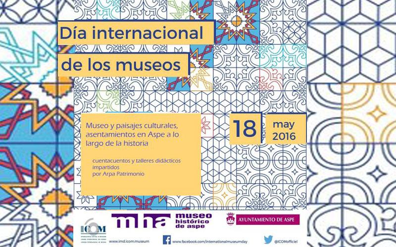 Photo of #Aspe se suma a la celebración del Día Internacional de los museos