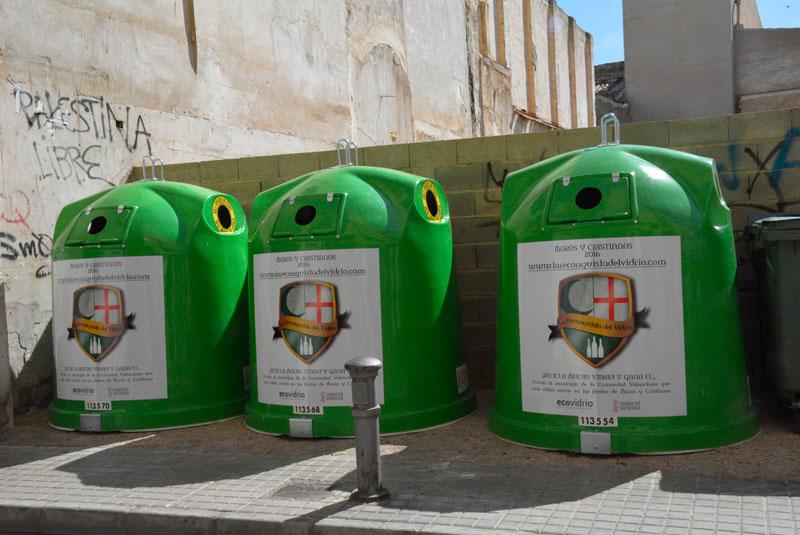Photo of #Elda recicla 14.000 kg de vidrio durante las fiestas de Moros y Cristianos 2016