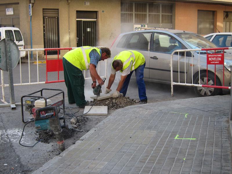 Photo of #Novelda – Infraestructuras acomete mejoras de accesibilidad en la calle Virgen del Remedio