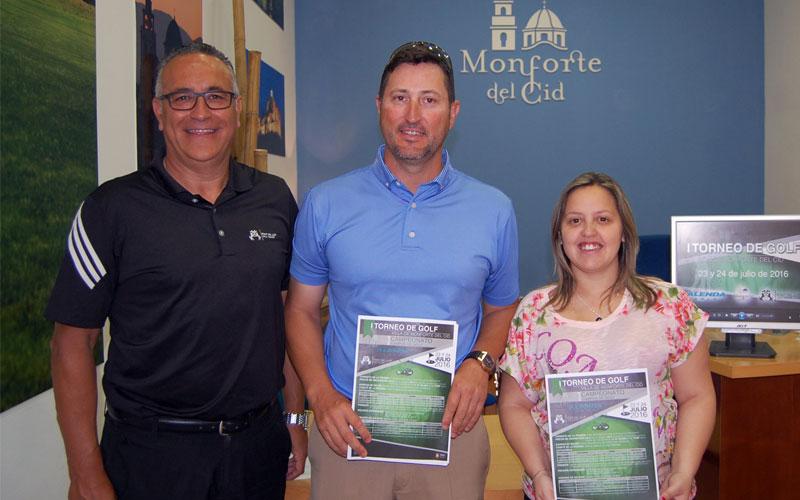 """Photo of #Monforte – presenta el I Torneo de Golf """"Villa de Monforte del Cid"""""""