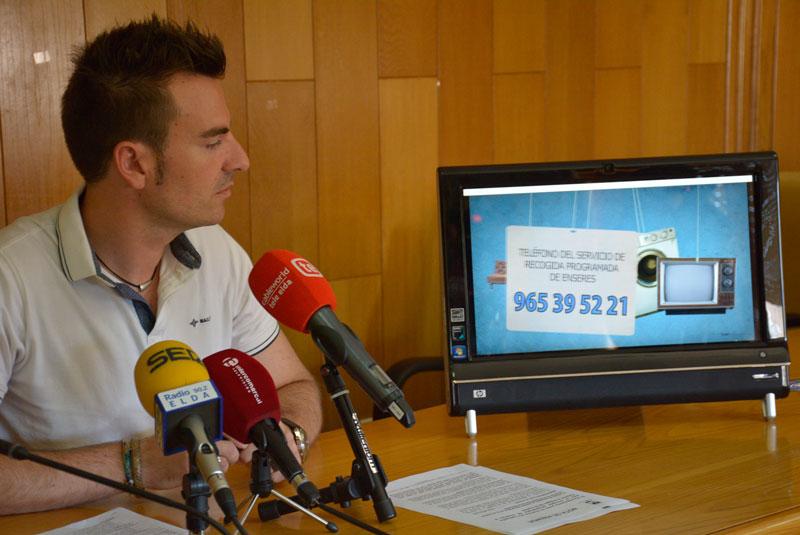 Photo of #Elda: Campaña para la recogida programada de enseres y mejora de la imagen de la ciudad