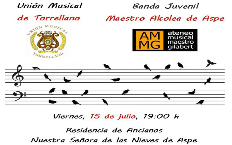 Photo of #Aspe – Concierto de la banda juvenil Maestro Alcolea
