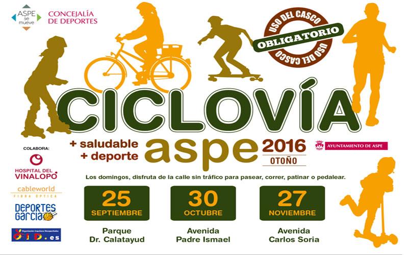 Photo of Vuelve la Ciclovía a las calles de #Aspe