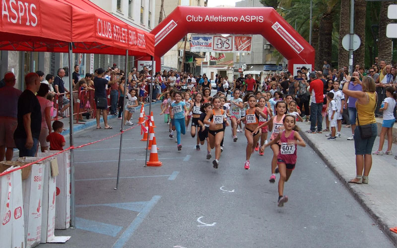 Photo of #Aspe: Más de 300 niños y adultos participarán este sábado en la milla urbana