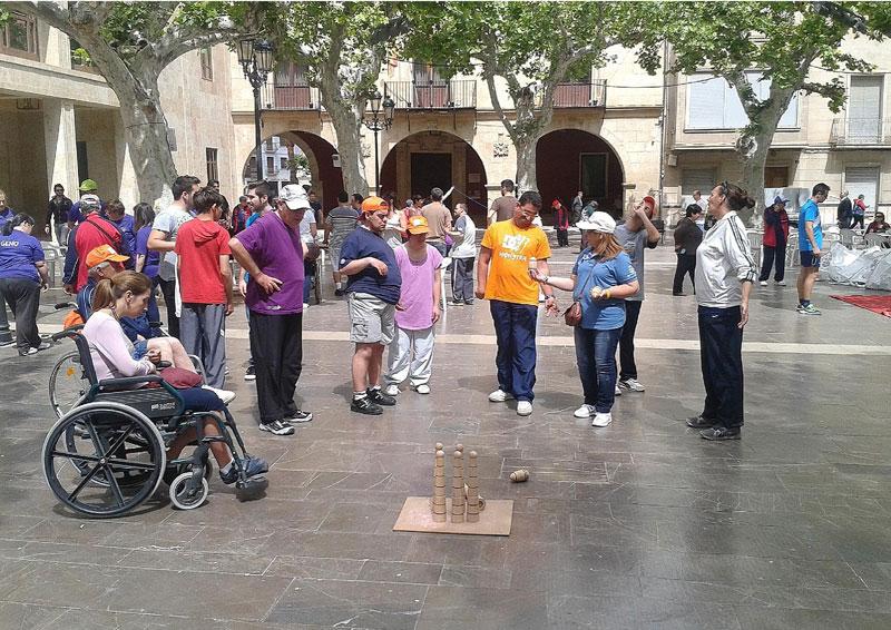 Photo of #Aspe – Discapacitados de toda la provincia realizarán juegos populares en la Plaza Mayor