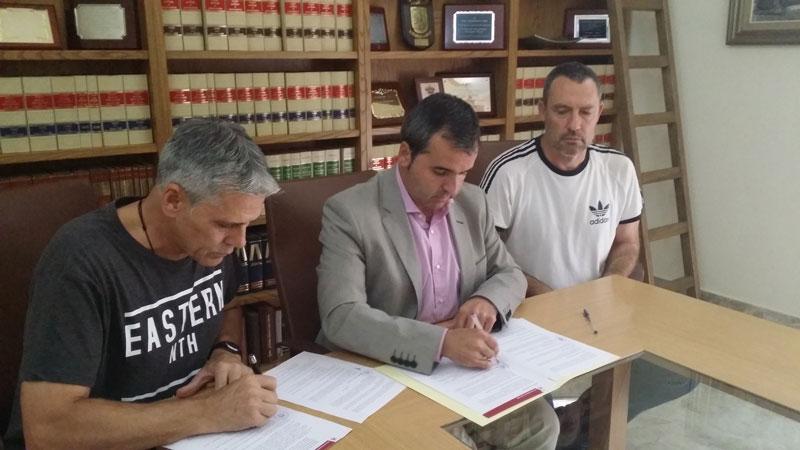 Photo of #Aspe – Un convenio de casi 3.000€ con el CB Aspe para el Memorial Miguel Iborra