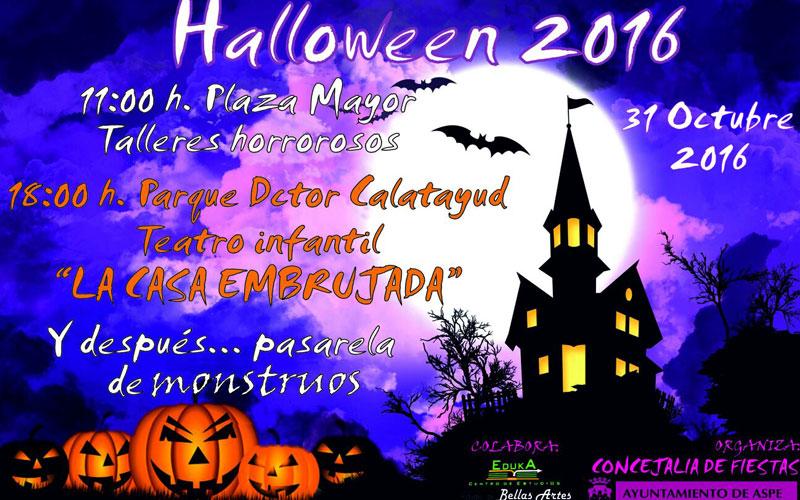 Photo of #Aspe- Novedades para la celebración de Halloween el próximo lunes