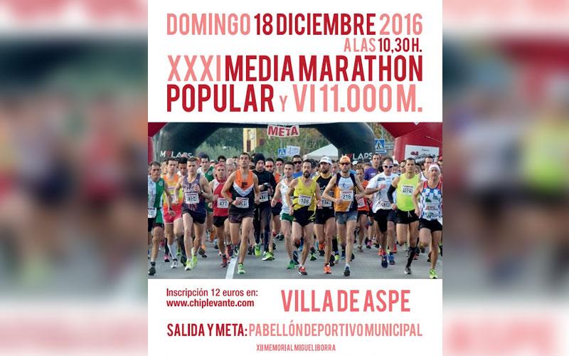 Photo of #Aspe – Comienza la promoción de la Media Maratón de Aspe