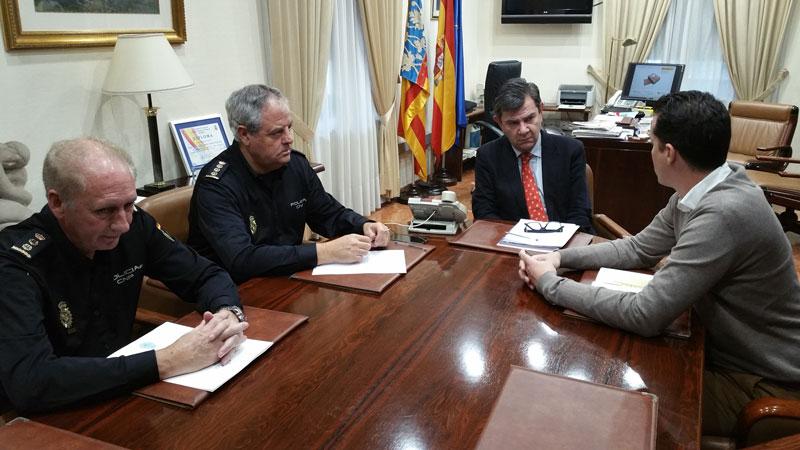 Photo of #Elda: Reunión con el subdelegado del Gobierno para la instalación de cámaras de vigilancia