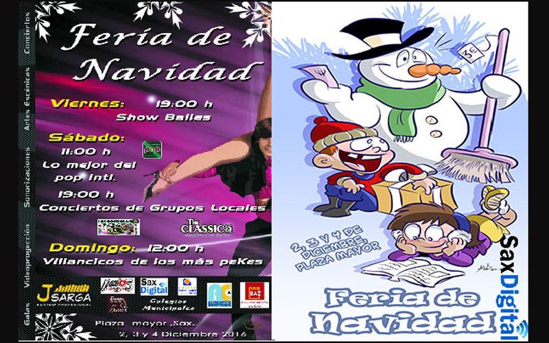 Photo of #Sax: La Asociación de Comerciantes organiza la Feria de Navidad