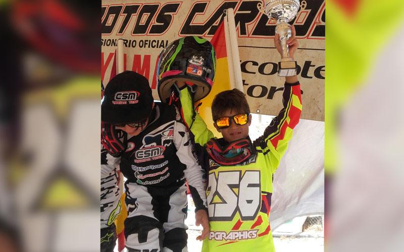 Photo of #Aspe: Bruno Puerto acaba tercero en el Campeonato Autonómico de Motocross