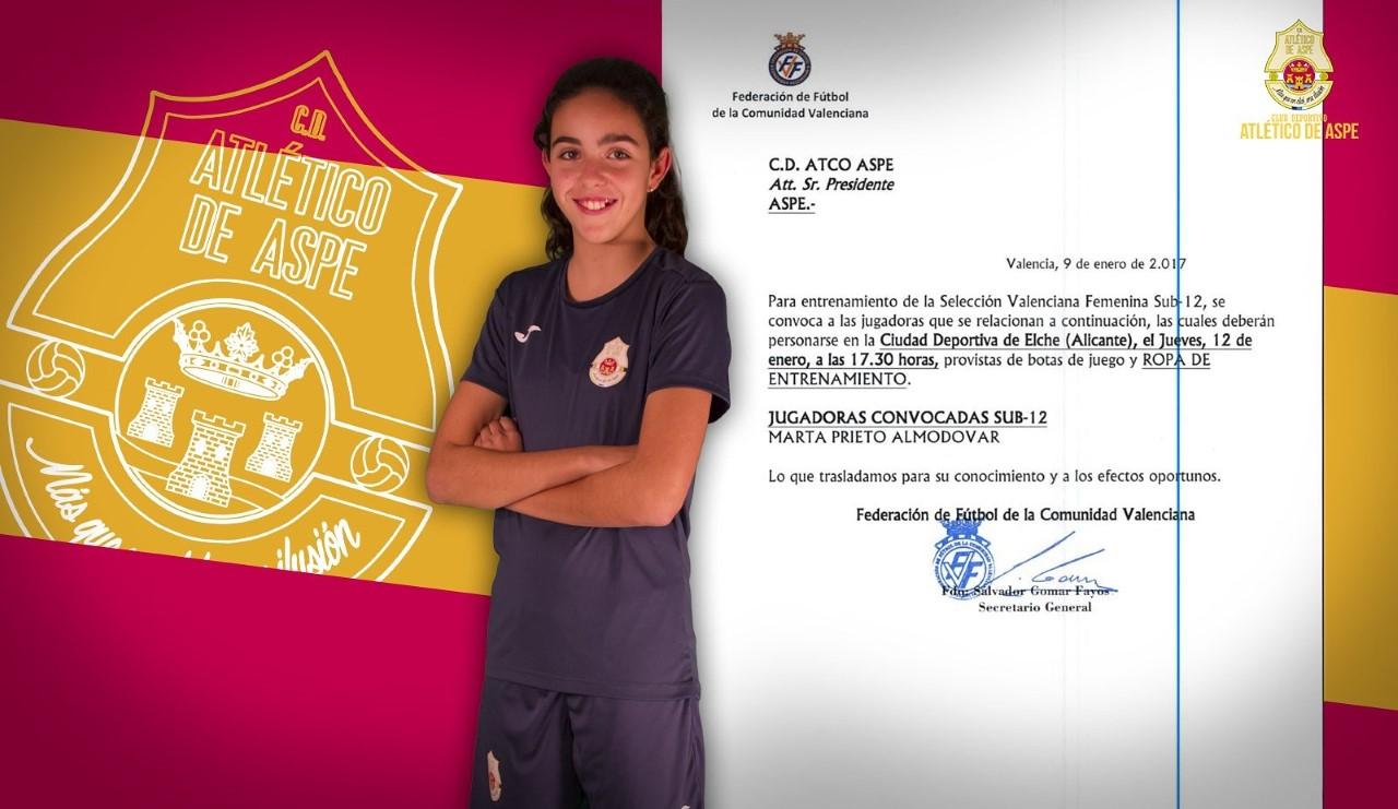 Photo of #Aspe: Marta Prieto y Yaiza Amor son convocadas por la Selección Valenciana Femenina Sub-12